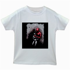 Bescaredduv Kids White T-Shirts