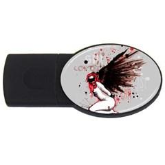 Dominance USB Flash Drive Oval (1 GB)