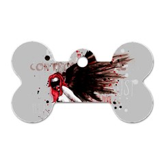 Dominance Dog Tag Bone (One Side)