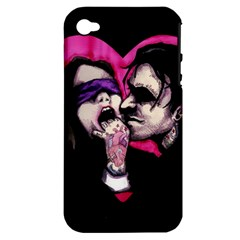I Know What You Want Apple iPhone 4/4S Hardshell Case (PC+Silicone)