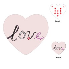 Toy Love Playing Cards (Heart)