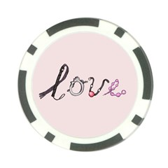 Toy Love Poker Chip Card Guard