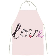 Toy Love Full Print Aprons