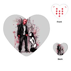 Say Please Playing Cards (Heart)