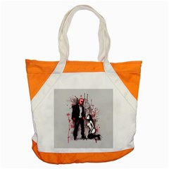 Say Please Accent Tote Bag