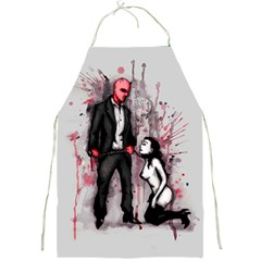 Say Please Full Print Aprons