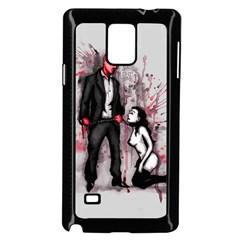 Say Please Samsung Galaxy Note 4 Case (Black)
