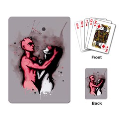 Come Play Playing Card