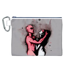 Come Play Canvas Cosmetic Bag (L)