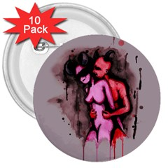 Whisper 3  Buttons (10 pack)