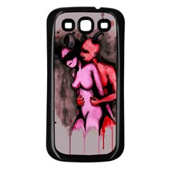 Whisper Samsung Galaxy S3 Back Case (Black)