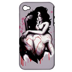 Love Marks Apple iPhone 4/4S Hardshell Case (PC+Silicone)
