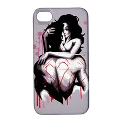 Love Marks Apple iPhone 4/4S Hardshell Case with Stand