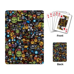 Many Funny Animals Playing Card