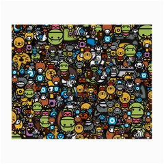 Many Funny Animals Small Glasses Cloth (2 Side)