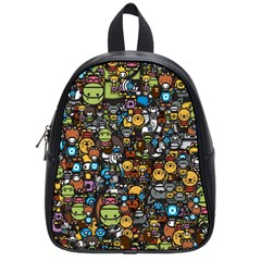 Many Funny Animals School Bags (small)