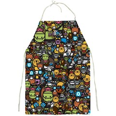 Many Funny Animals Full Print Aprons