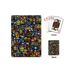Many Funny Animals Playing Cards (mini)