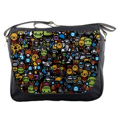 Many Funny Animals Messenger Bags