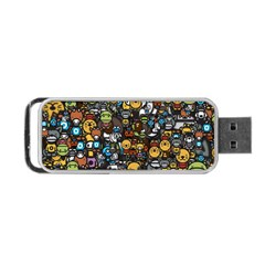 Many Funny Animals Portable USB Flash (One Side)