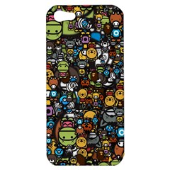 Many Funny Animals Apple iPhone 5 Hardshell Case
