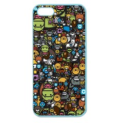 Many Funny Animals Apple Seamless iPhone 5 Case (Color)