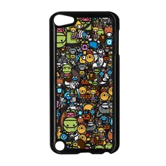Many Funny Animals Apple iPod Touch 5 Case (Black)