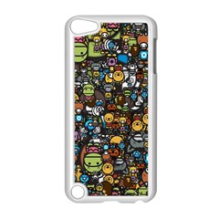 Many Funny Animals Apple iPod Touch 5 Case (White)