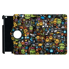 Many Funny Animals Apple Ipad 3/4 Flip 360 Case