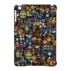 Many Funny Animals Apple iPad Mini Hardshell Case (Compatible with Smart Cover)