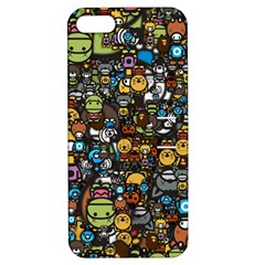 Many Funny Animals Apple iPhone 5 Hardshell Case with Stand