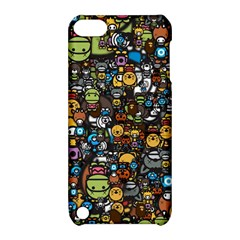 Many Funny Animals Apple iPod Touch 5 Hardshell Case with Stand