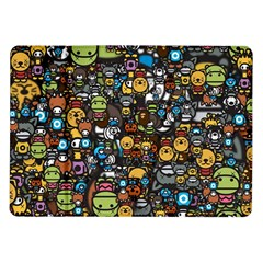 Many Funny Animals Samsung Galaxy Tab 10.1  P7500 Flip Case