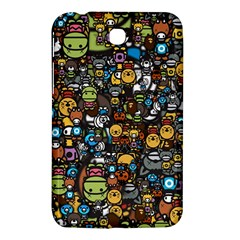 Many Funny Animals Samsung Galaxy Tab 3 (7 ) P3200 Hardshell Case