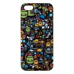 Many Funny Animals iPhone 5S/ SE Premium Hardshell Case