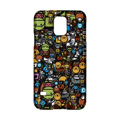 Many Funny Animals Samsung Galaxy S5 Hardshell Case