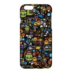 Many Funny Animals Apple iPhone 6 Plus/6S Plus Hardshell Case