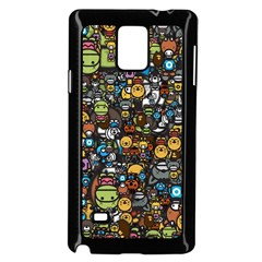 Many Funny Animals Samsung Galaxy Note 4 Case (black)
