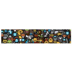 Many Funny Animals Flano Scarf (Small)