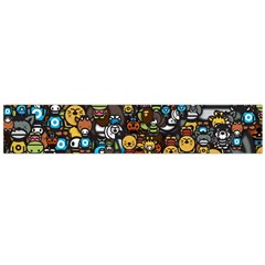 Many Funny Animals Flano Scarf (Large)