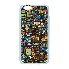 Many Funny Animals Apple Seamless iPhone 6/6S Case (Color)