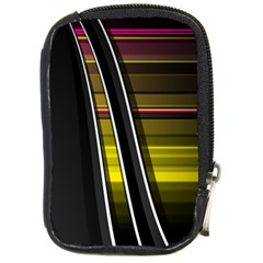 Abstract Multicolor Vectors Flow Lines Graphics Compact Camera Cases