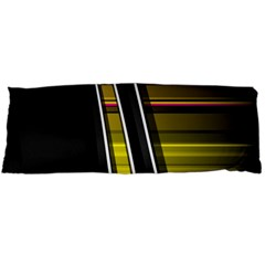 Abstract Multicolor Vectors Flow Lines Graphics Body Pillow Case Dakimakura (Two Sides)