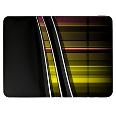 Abstract Multicolor Vectors Flow Lines Graphics Samsung Galaxy Tab 7  P1000 Flip Case
