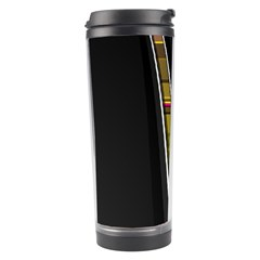 Abstract Multicolor Vectors Flow Lines Graphics Travel Tumbler