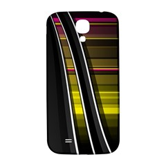 Abstract Multicolor Vectors Flow Lines Graphics Samsung Galaxy S4 I9500/I9505  Hardshell Back Case