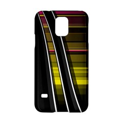 Abstract Multicolor Vectors Flow Lines Graphics Samsung Galaxy S5 Hardshell Case