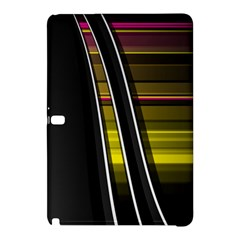 Abstract Multicolor Vectors Flow Lines Graphics Samsung Galaxy Tab Pro 12 2 Hardshell Case