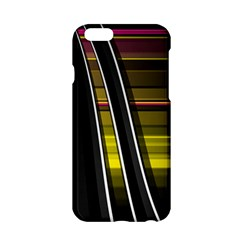Abstract Multicolor Vectors Flow Lines Graphics Apple Iphone 6/6s Hardshell Case