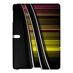 Abstract Multicolor Vectors Flow Lines Graphics Samsung Galaxy Tab S (10 5 ) Hardshell Case